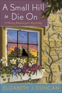 Cover art for A Small Hill to Die On by Elizabeth J Duncan