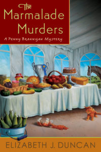 cover - The Marmalade Murders